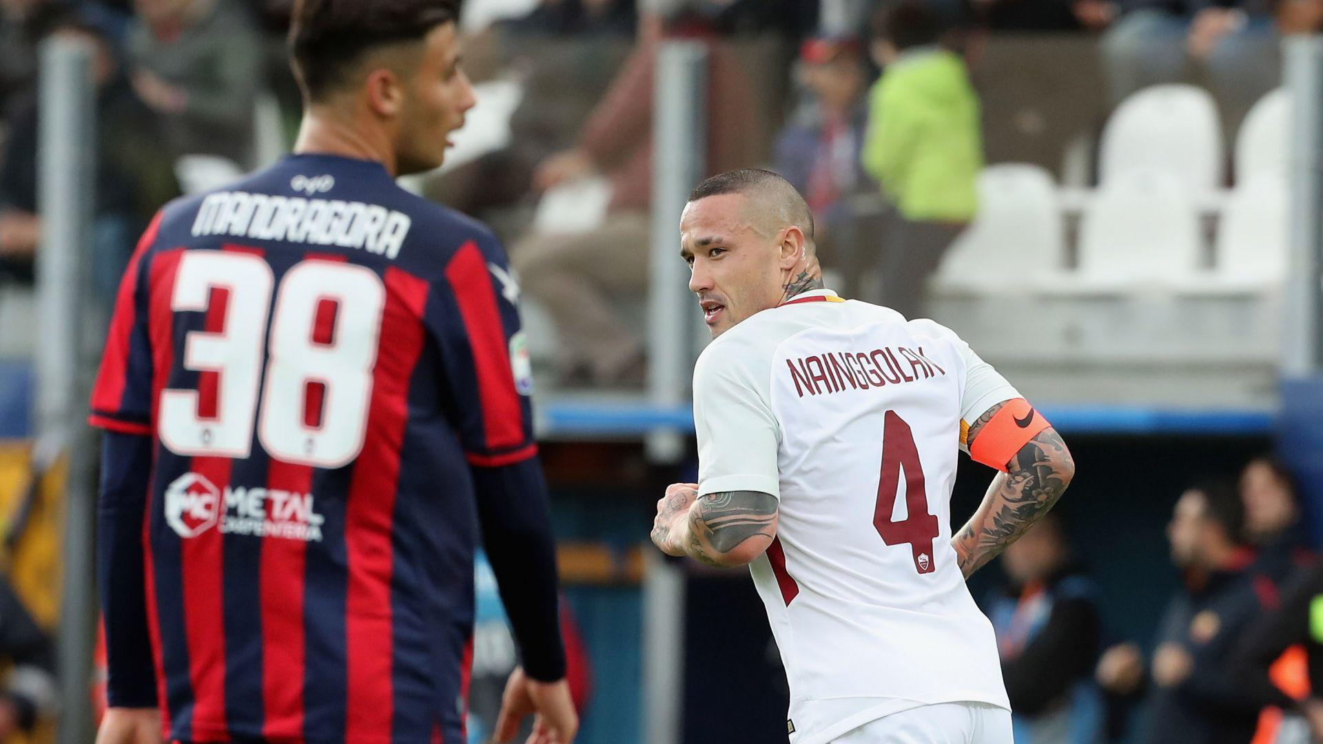 Crotone Roma 0-2 in diretta: risultato LIVE