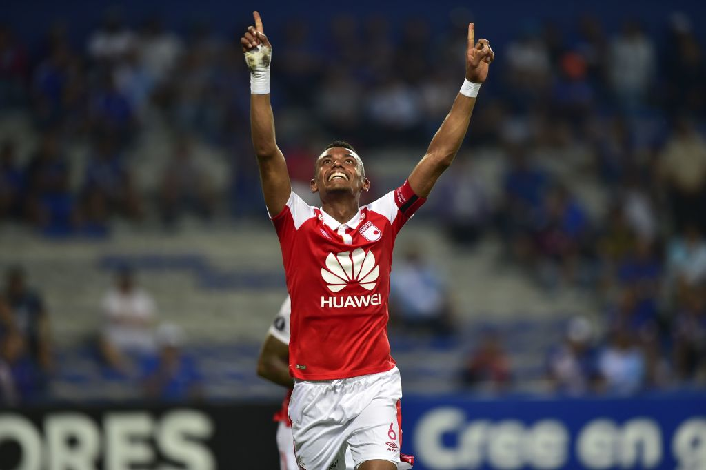 William Tesillo Santa Fe - Emelec Copa Libertadores