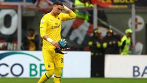 Gianluigi Donnarumma Milan Udinese Serie A
