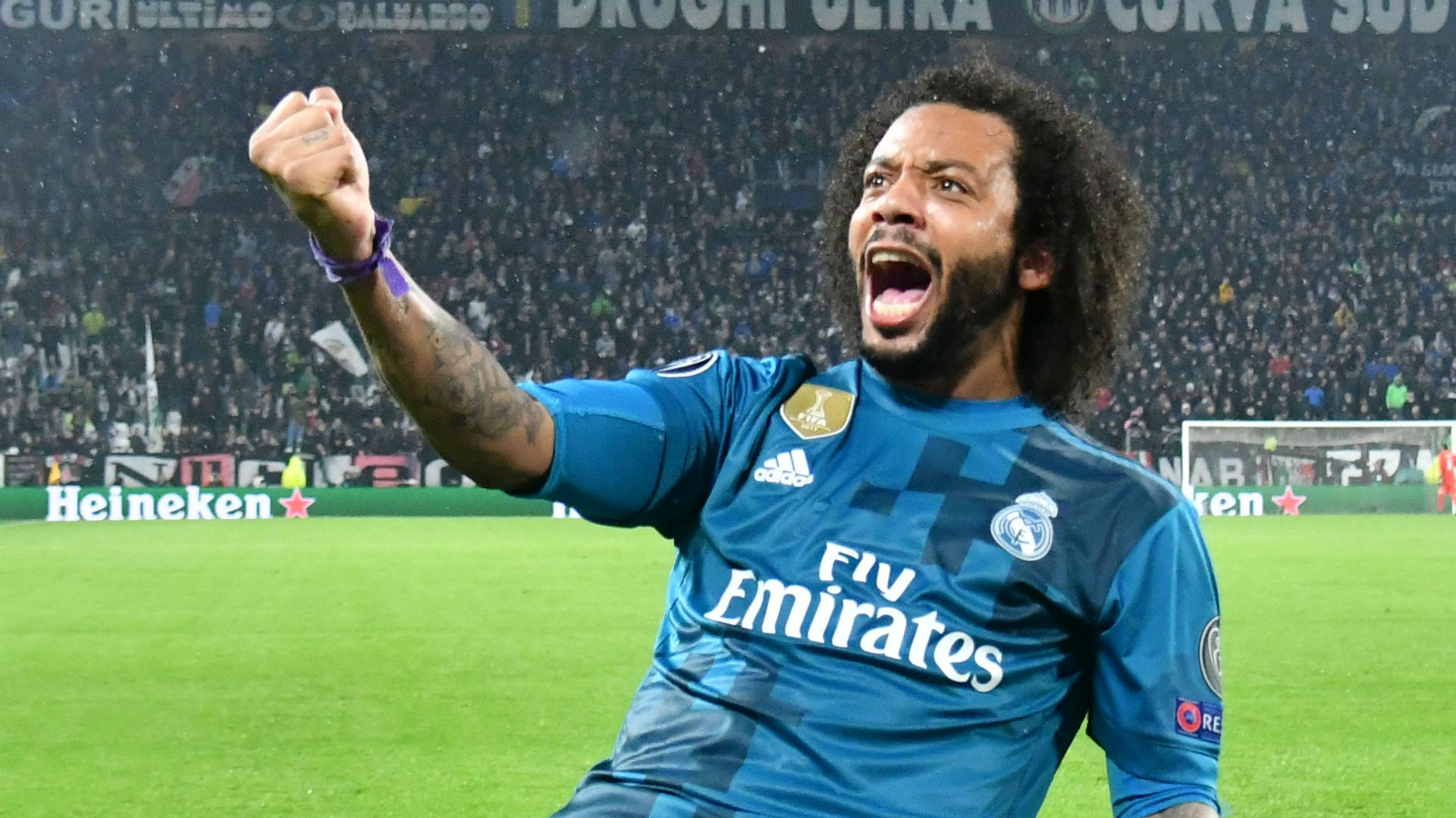 Marcelo Real Madrid Juventus Champions League  03 04 2018
