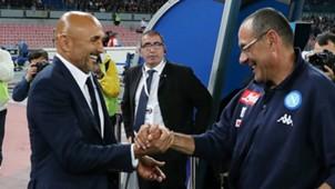 Sarri Spalletti Napoli Inter