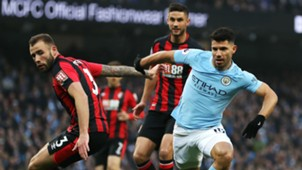 Sergio Aguero Manchester City Bournemouth