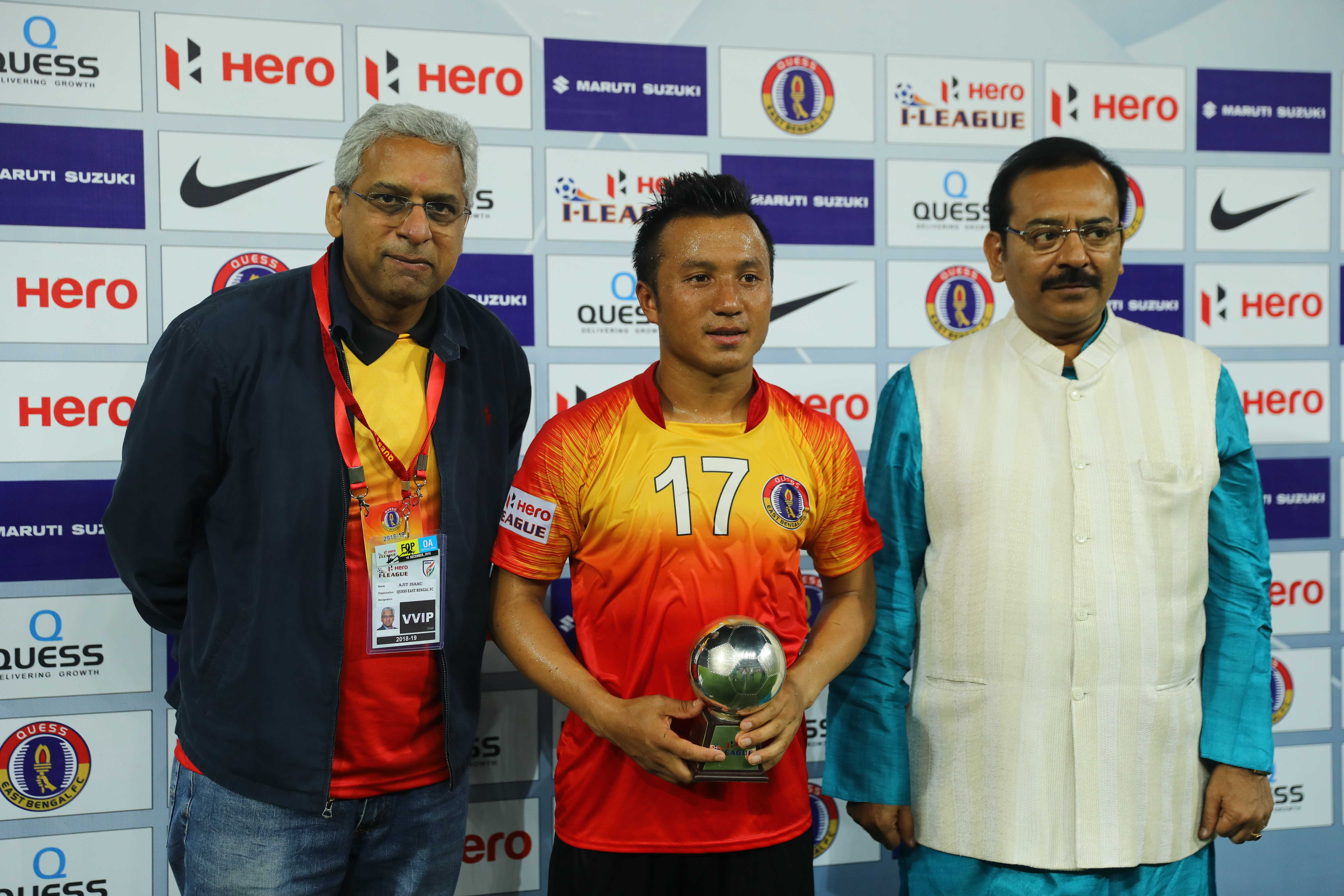 Ajit Isaac Laldanmawia Ralte Quess East Bengal