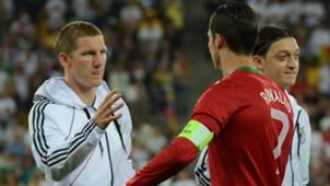 Bastian Schweinsteiger Cristiano Ronaldo Deutschland Germany Portugal 06092012