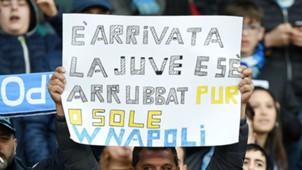 Napoli fans Higuain