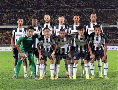 Pahang first eleven against Perak 21/1/2017