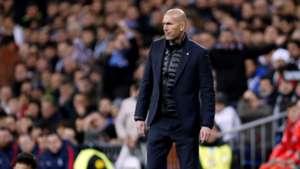Zinedine Zidane Real Madrid PSG Champions League 14022018