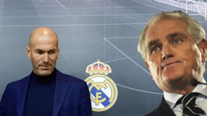 GFX Zinedine Zidane Ramon Calderon Real Madrid