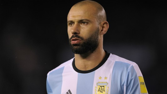 Javier Mascherano Argentina Venezuela Eliminatorias Sudamericanas 05092017