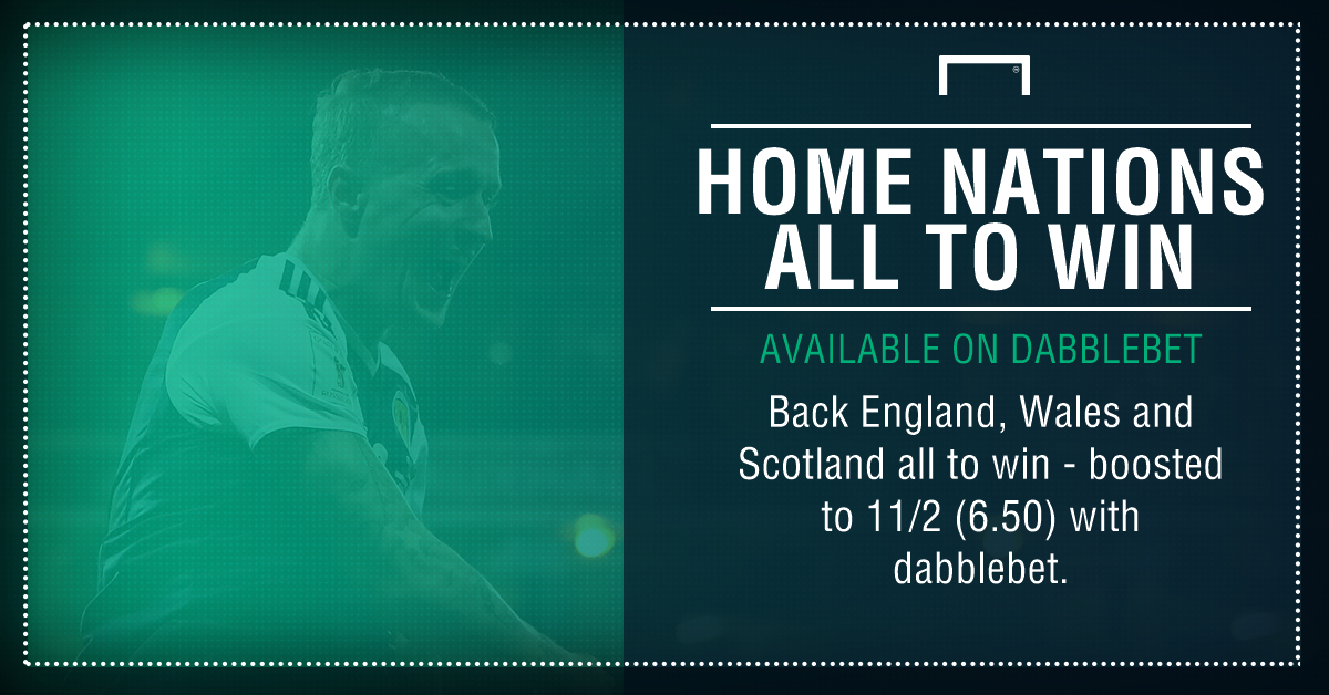 Home nations treble graphic