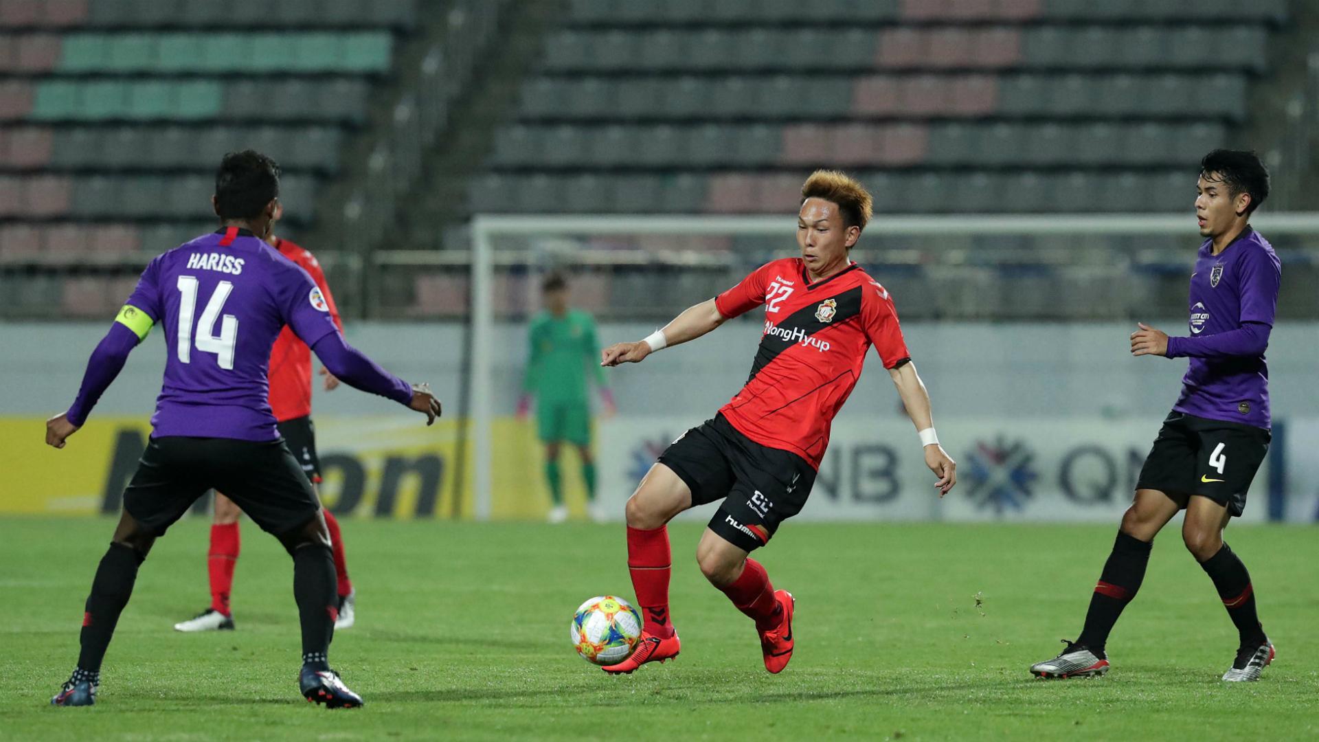 Afiq Fazail, Gyeongnam v Johor Darul Ta'zim, AFC Champions League, 22 May 2019