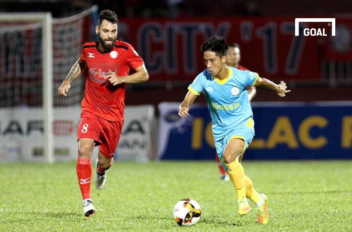CLB TP.HCM Sanna Khánh Hoà BVN Vòng 4 V.League 2018