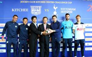 Tottenham hotspur will play friendly with Kitchee in Hong Kong Stadium.