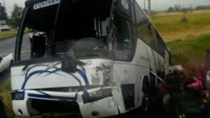 Choque autobús