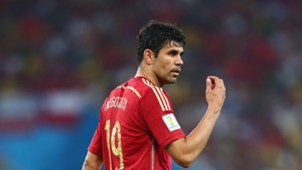 Diego Costa Spain 2014 World Cup 18062014