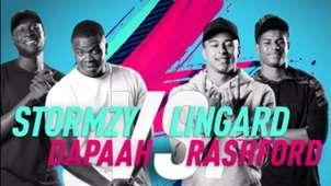 FIFA 19: Lingard + Rashford vs Stormzy + Dapaah