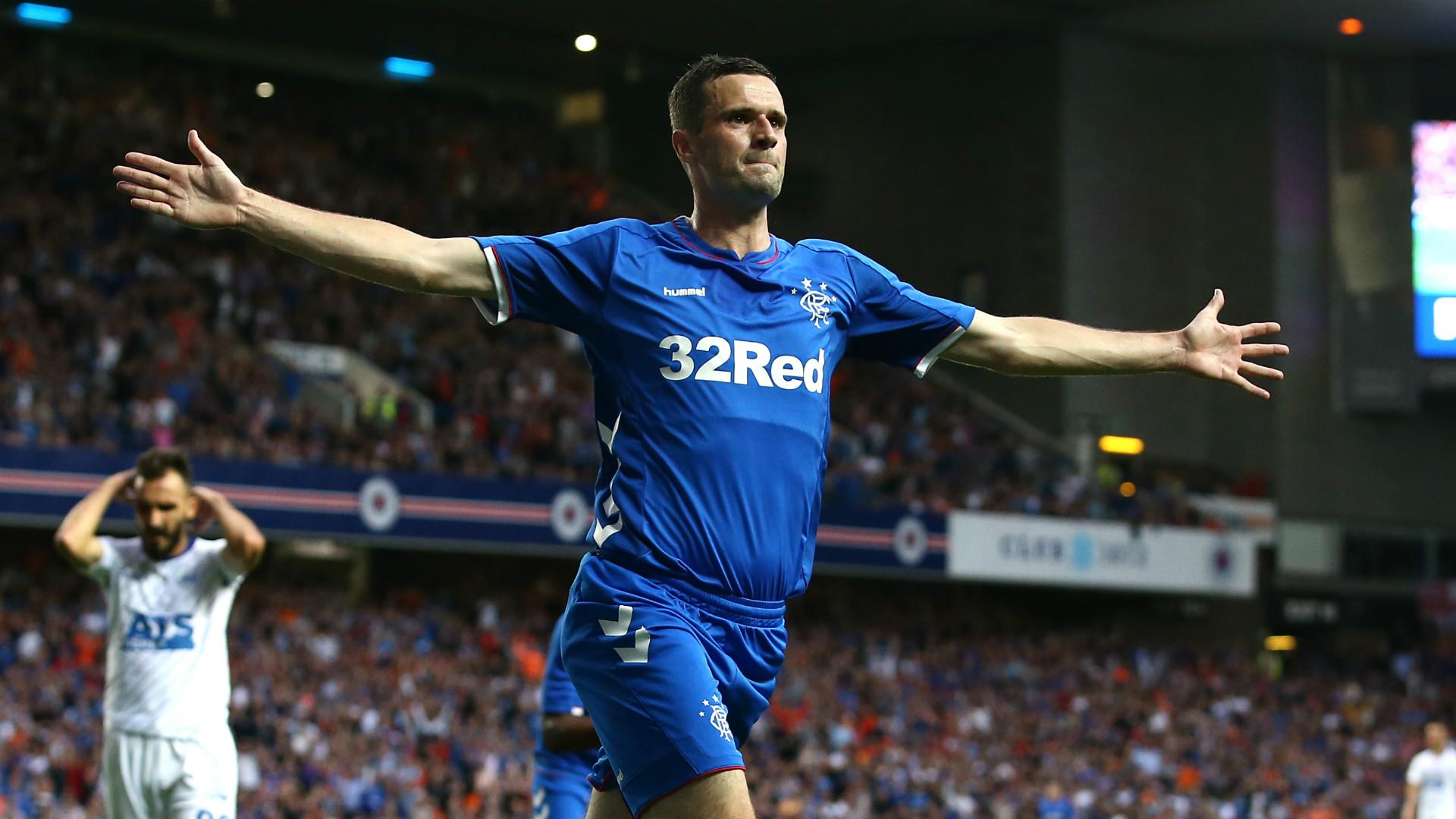 Jamie Murphy Rangers Europa League 2018-19
