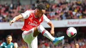 Aubameyang's winner against Burnley wins Arsenal Goal of the Month award