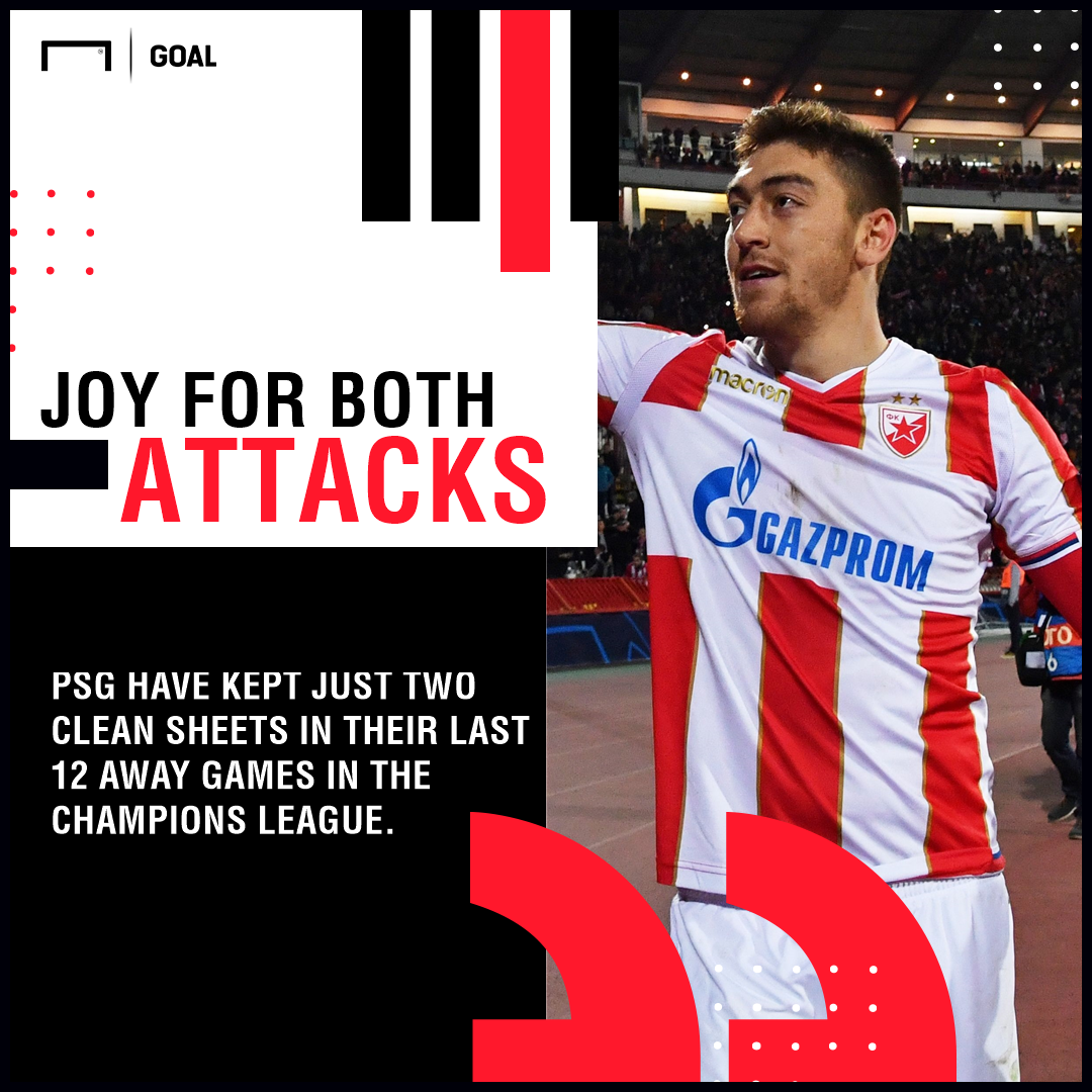 Red Star Belgrade PSG graphic