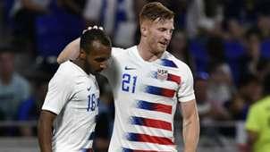 Julian Green Tim Parker USA France friendly 2018