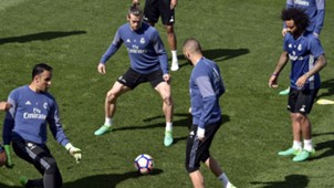 Real Madrid entrenamiento