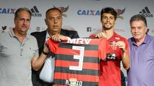 Rodrigo Caio Flamengo apresentação 03012019