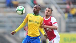 Khama Billiat, Mamelodi Sundowns & Grant Margeman, Ajax Cape Town, April 2018