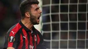 Cutrone Milan Olympiacos Europa League