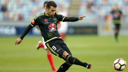 Kosta Barbarouses Wellington Phoenix v Western Sydney Wanderers A-League 04022017