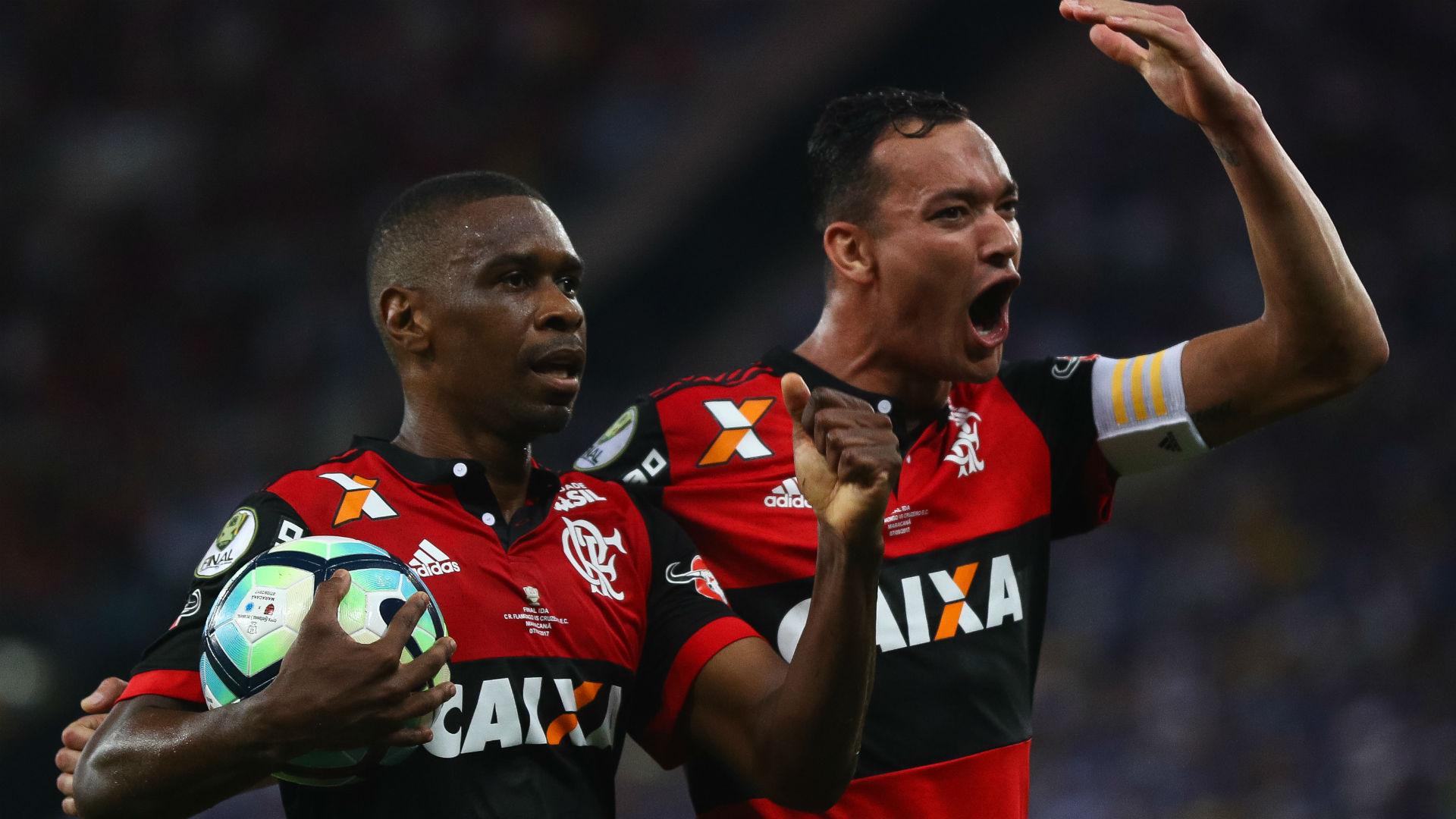 Juan Rever Flamengo Cruzeiro Copa do Brasil 08 09 2017