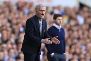 Jose Mourinho Tottenham Hotspur Manchester United