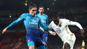 Hector Bellerin Tom Pettersson Arsenal Ostersunds