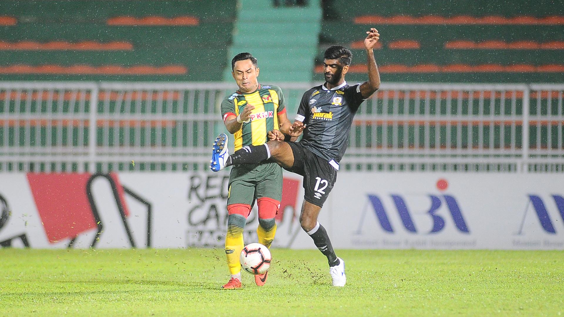 Zaquan Adha, Kenny Pallraj, Kedah v Perak, Malaysia Super League, 13 Jul 2019