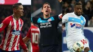 Collage europeos liga mx