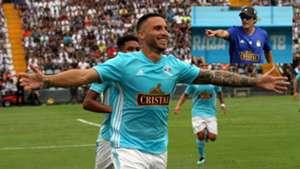 180218 Emanuel Herrera - Mario Salas - Alianza Lima vs Sporting Cristal