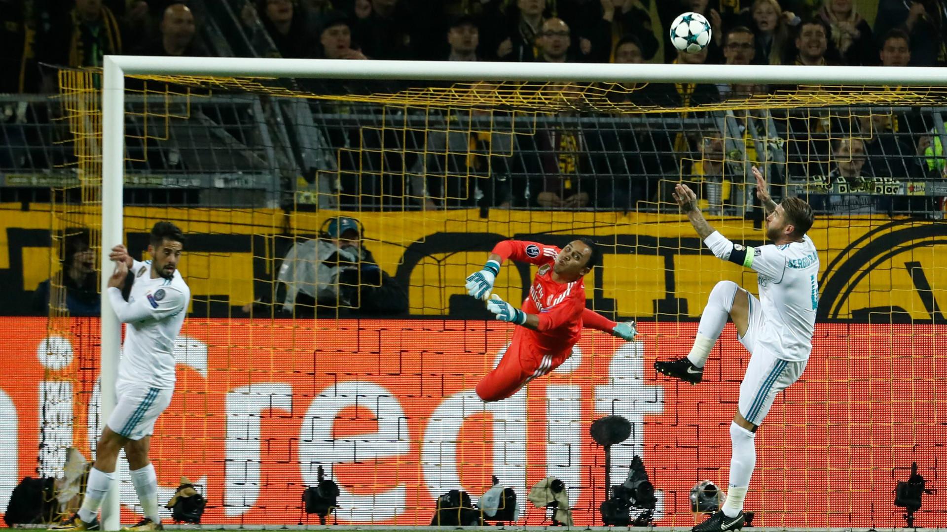 Ramos Borussia Dortmund Real Madrid Champions League