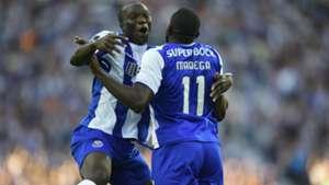 Vincent Aboubakar and Moussa Marega of FC Porto
