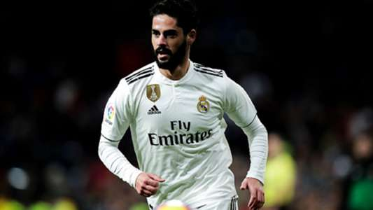Isco of Real Madrid during the La Liga Santander match between Real Madrid v Valencia at the Santiago Bernabeu on December 1, 2018