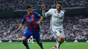 Mateo Kovacic Luis Suarez Real Madrid Barcelona