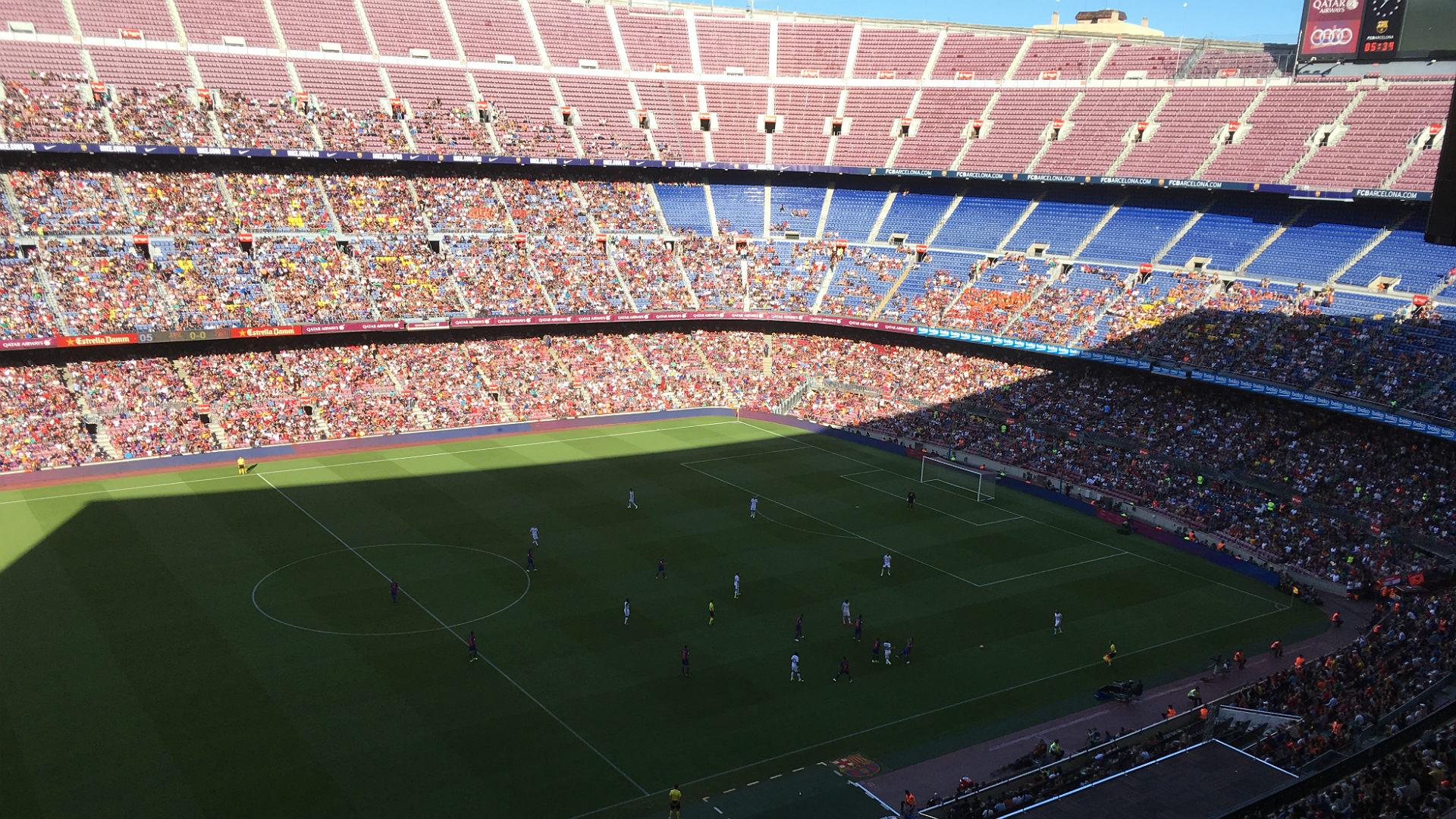 Barcelona legends aforo