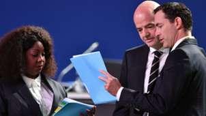 Gianni Infantino Fatma Samoura Fifa Congress 2018