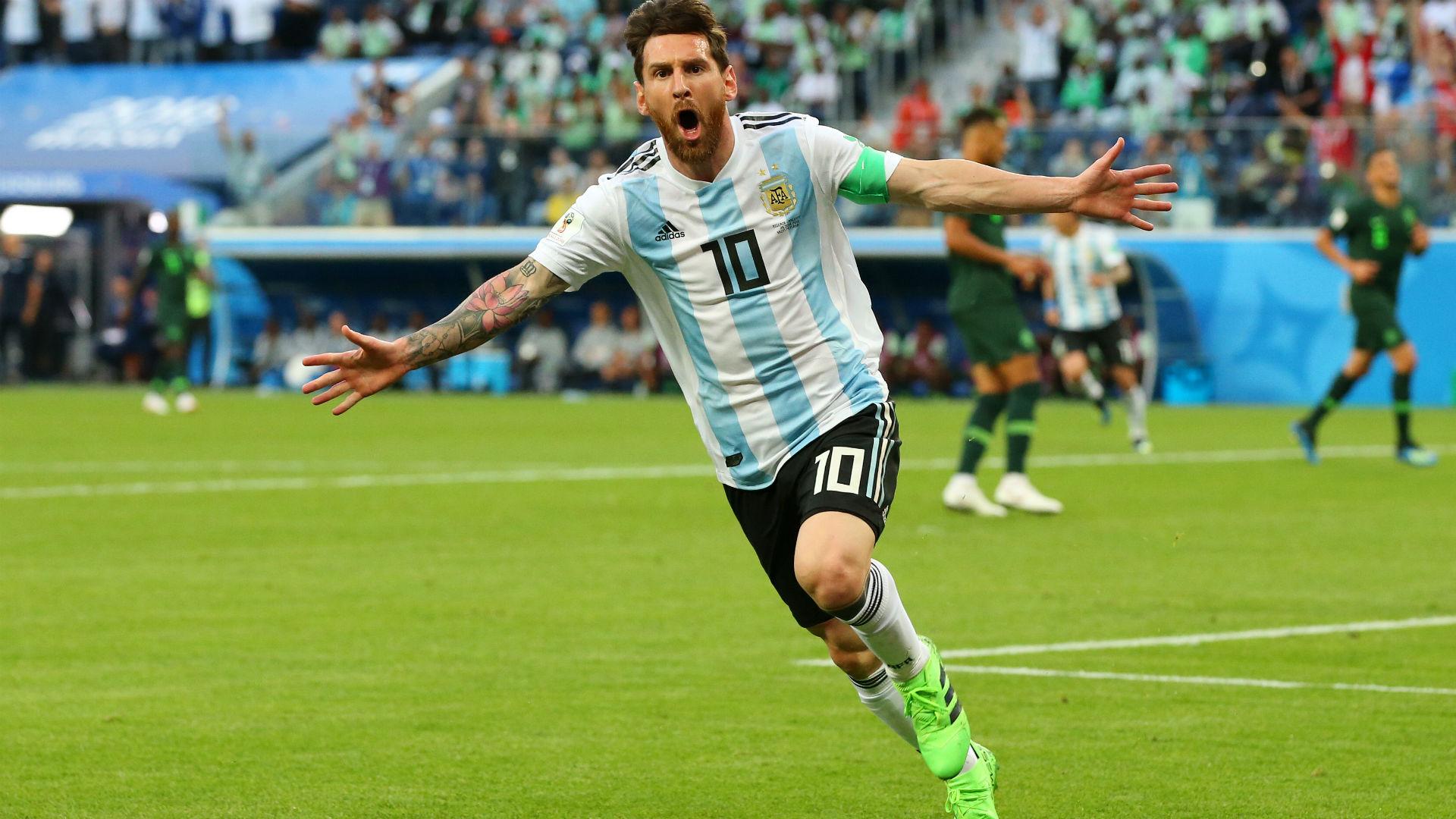 Lionel Messi Argentina Nigeria World Cup Russi 2018 26062018 ed435968d