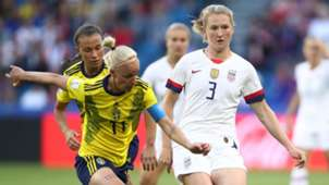 Samantha Mewis USA USWNT Sweden Women's World Cup 2019