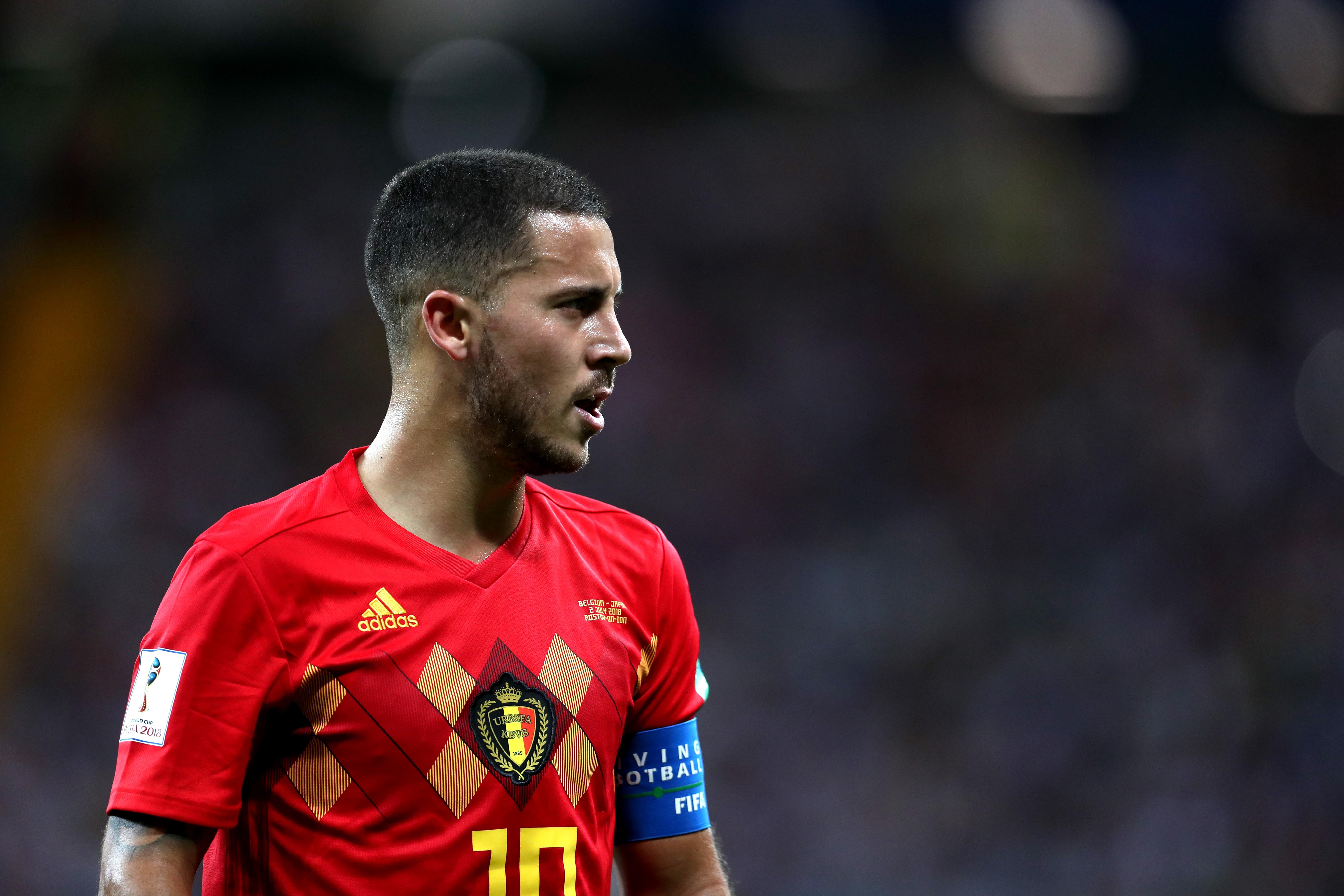 Eden Hazard Bélgica