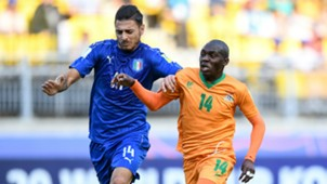 Giuseppe Pezzella, Edward Chilufya, Italy U20, Zambia U20, WCU20, 05062017