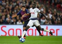 Davinson Sánchez Tottenham - Barcelona Champions League 2018