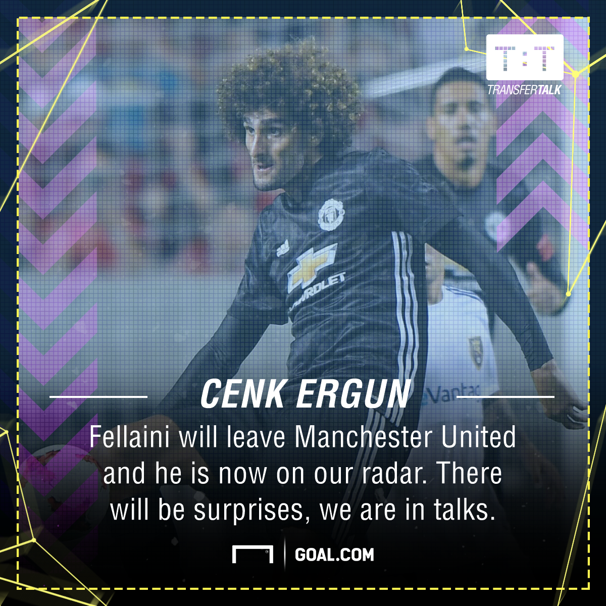 Marouane Fellaini Manchester United Galatasaray