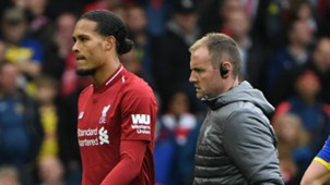 Virgil van Dijk Liverpool 2018-19