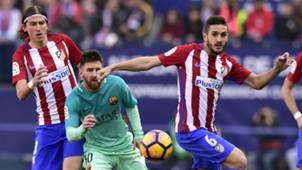 Lionel Messi Barcelona Koke Atletico Madrid La Liga
