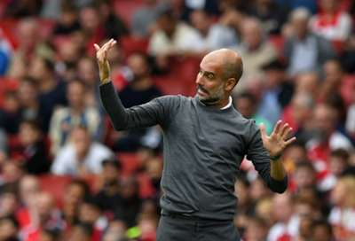 Pep Guardiola Arsenal Manchester City